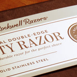 Rockwell razor Model 6S Stainless steel (Matte finish) - Bundubeard