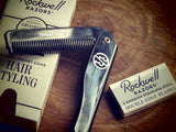 Rockwell folding hair comb - Bundubeard