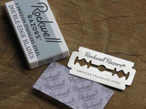 Rockwell blades for Safety Razor - Bundubeard