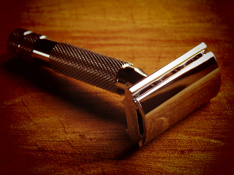 Rockwell razor Model 2C Razor (White chrome finish) - Bundubeard