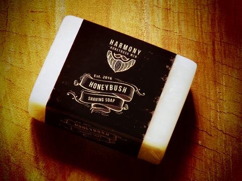 Harmony Honeybush shaving soap - Bundubeard