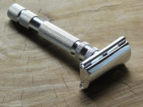 Rockwell razor Model T Adjustable safety razor - Bundubeard