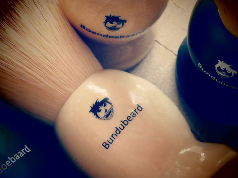Synthetic Brush (shades of brown) - Bundubeard