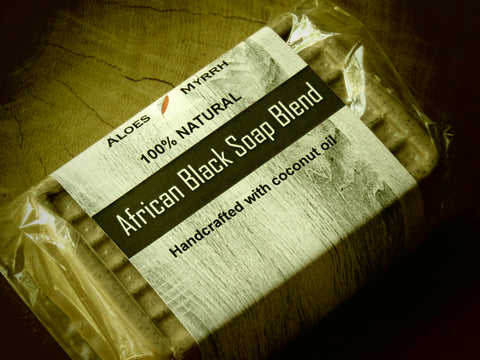 Aloes Myrrh African black soap blend - Bundubeard