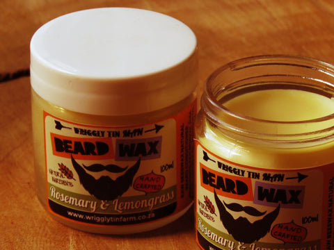 Wriggly Tin Beard wax - Bundubeard