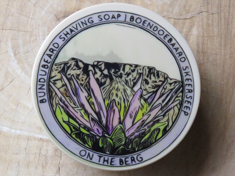 'On the berg' shaving soap. - Bundubeard