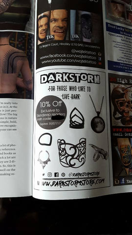 Darkstorm Jewellery - SkinDeep Tattoo Magazine