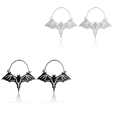 Chiroptera Hoop Earrings
