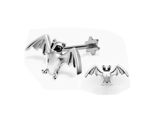 Barbastelle Bat Labret Bar