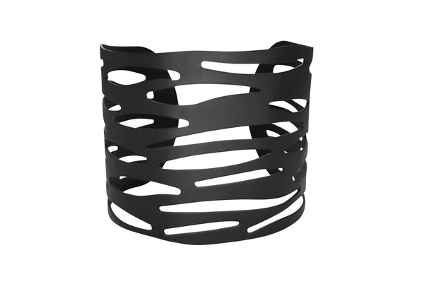 Forsaken Arm Cuff - Goth Gothic Alternative Black Matteblack