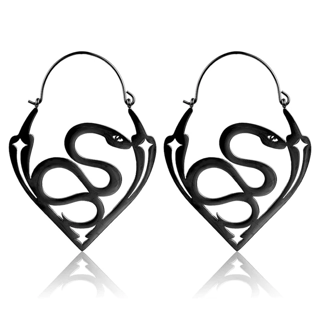 Serpentes Hoop Earrings
