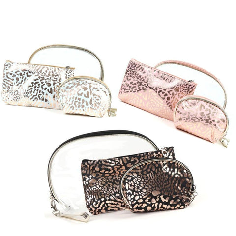 Leopard Travel Set- 3 Piece