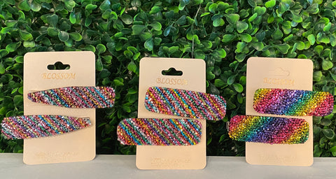 Colorful Beaded Snaps