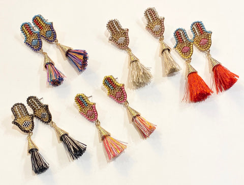 Fringe Hands Earrings