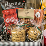 Man Cave Snacks Bread and Butter Gift Baskets Edmonton