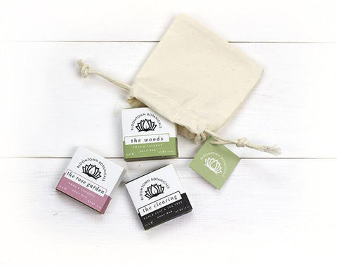 3 Soap Sampler - Bloomtown Botanicals