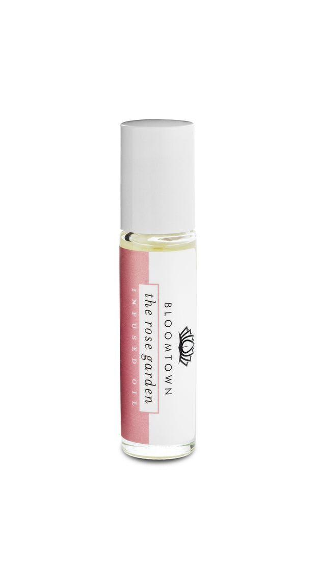 Roll-On Infused Oil - The Rose Garden (Musk Rose & White Florals)