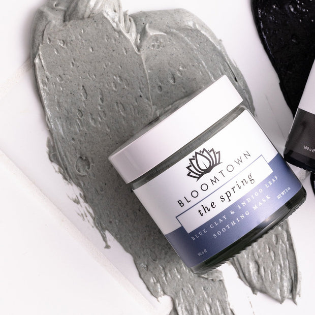 Blue Clay Mask with Soothing Bentonite & Indigo Leaf