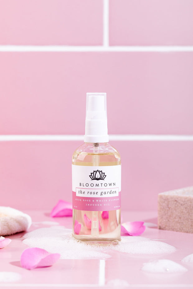 Body & Bath Oil - The Rose Garden (Musk Rose & White Florals)