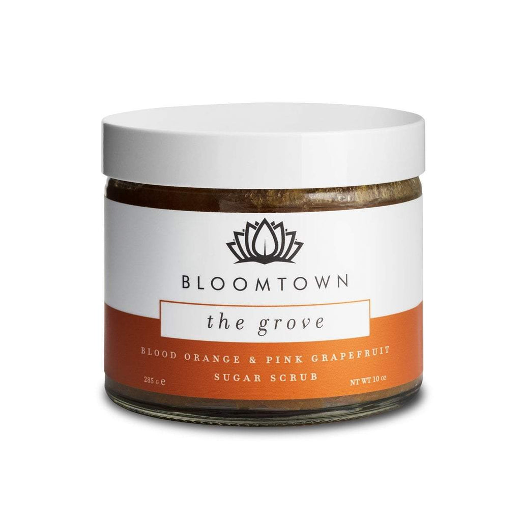 Exfoliating & Moisturising Sugar Scrub: The Grove (Blood Orange & Pink Grapefruit)