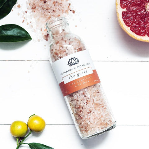 Pink Himalayan Salt Soak - The Grove (Blood Orange & Pink Grapefruit)