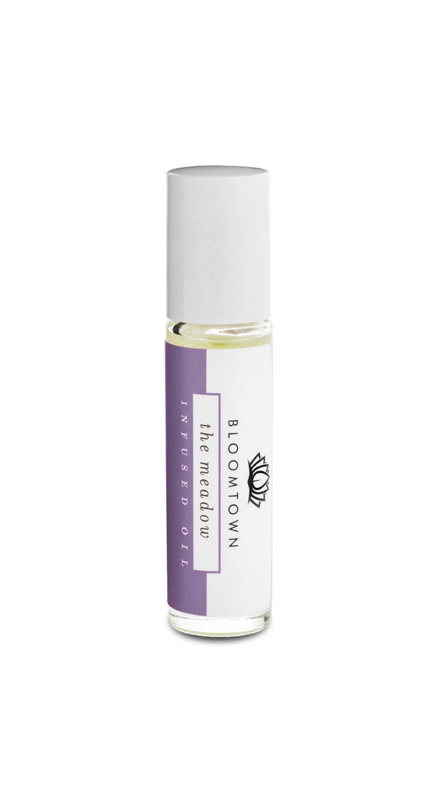Roll-On Infused Sleep and Relax Oil - The Meadow (Lavender & Rose Geranium)