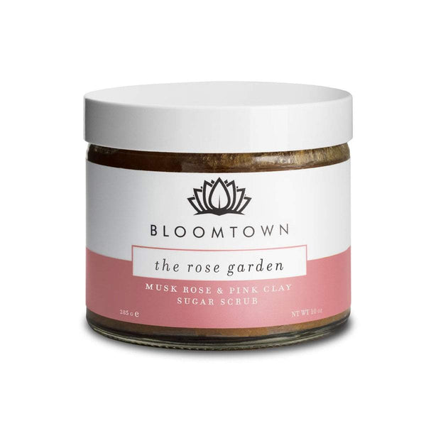 Exfoliating & Moisturising Sugar Scrub: The Rose Garden (Musk Rose & Pink Clay)