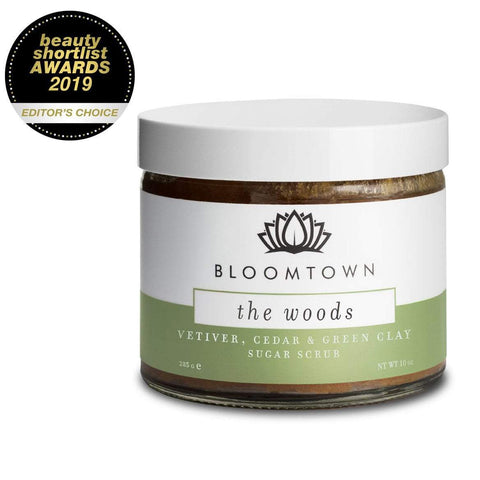 Exfoliating & Moisturising Sugar Scrub: The Woods (Vetiver, Cedar & Bergamot)
