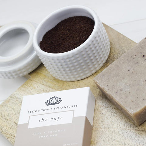 Nourishing Soap Bar: The Cafe - Bloomtown Botanicals
