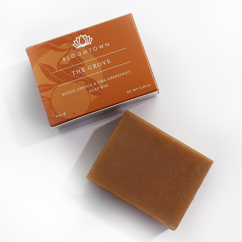 Nourishing Soap Bar: The Grove (Blood Orange & Pink Grapefruit)