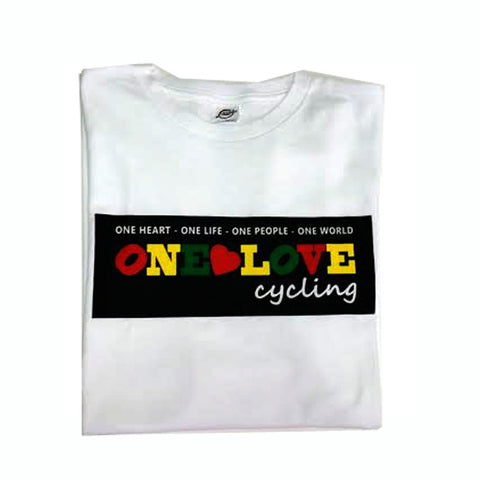One Love Cycling Unisex T-Shirt White