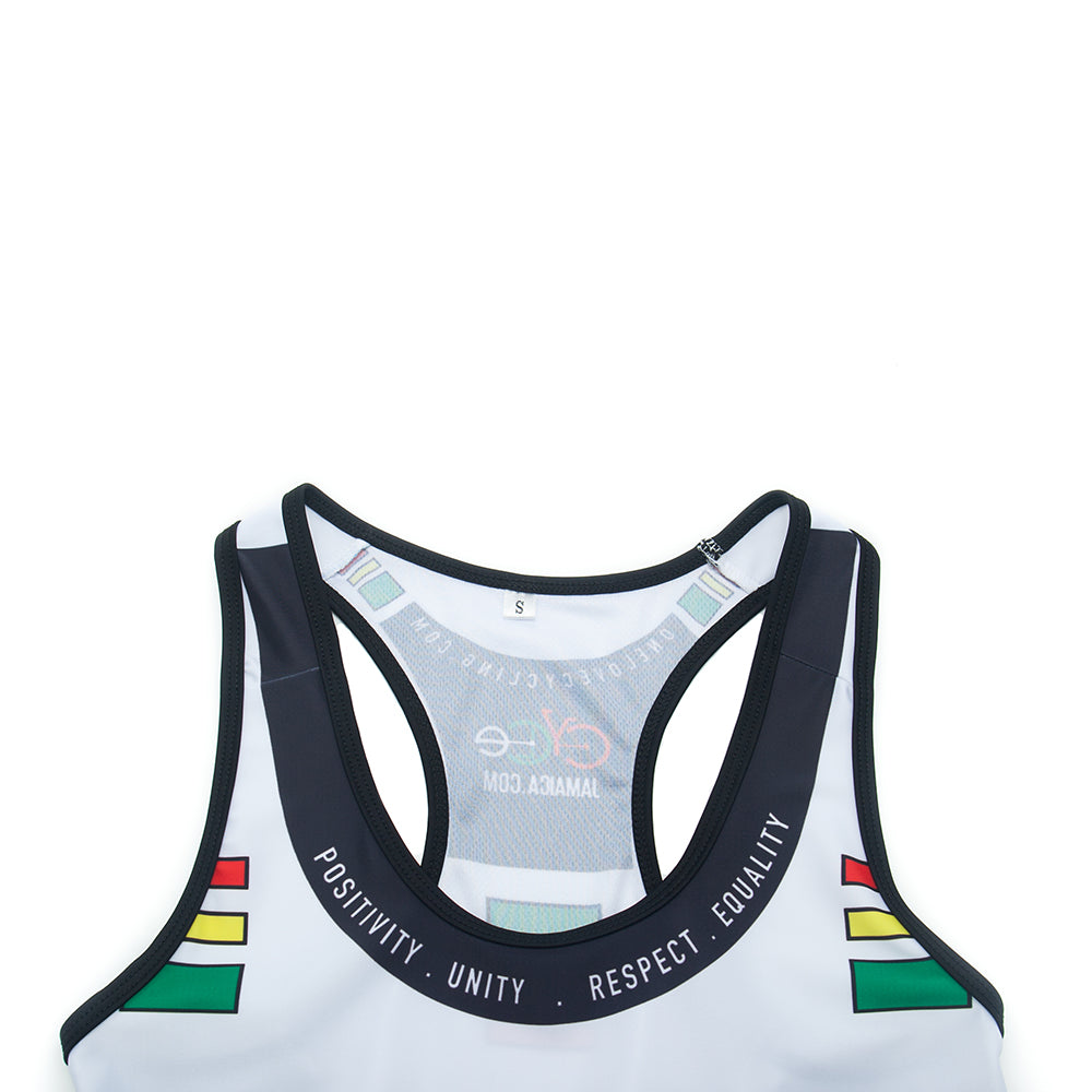 A5 Cycling Tank Top Cycling - White