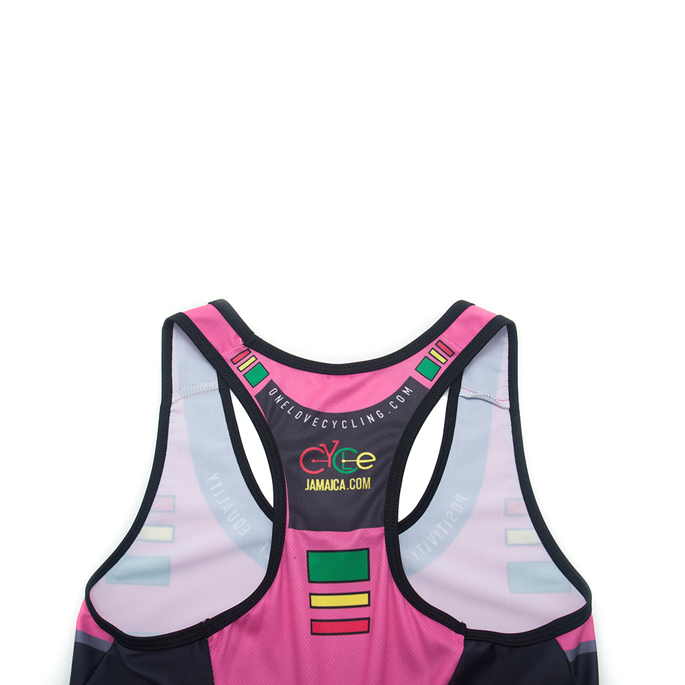 A5  Cycling Tank Top- Pink