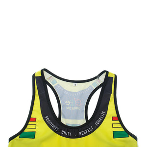 A5 Cycling Tank Top - Yellow