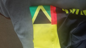 A5 Jamaica  One Piece Racing Kit -Yellow  Men- OOPS- Slight ink bleed on bands** NO RETURNS OR REFUNDS
