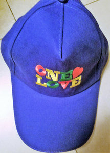 One Love Cap - Blue