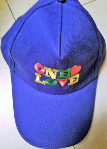 One Love Cap - blue*