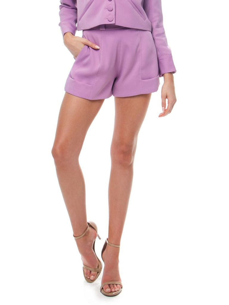 Women outfit in a shorts rental from FLETCH called Adella Slip Dress