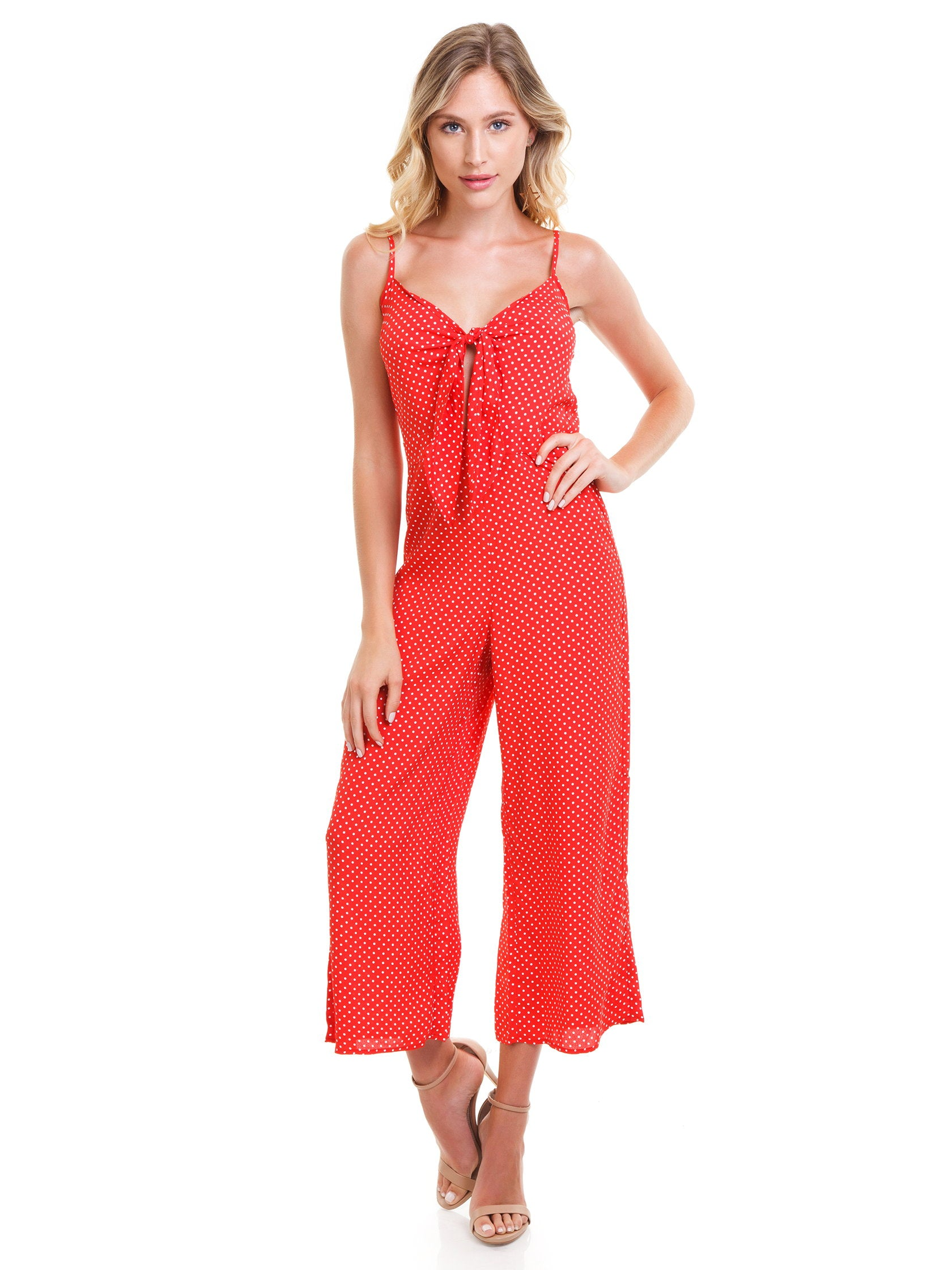 Girl outfit in a jumpsuit rental from Blue Life called Tied Up Jumpsuit