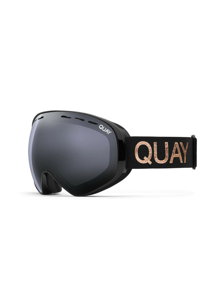 Women wearing a sunglasses rental from Quay Australia called Mogul