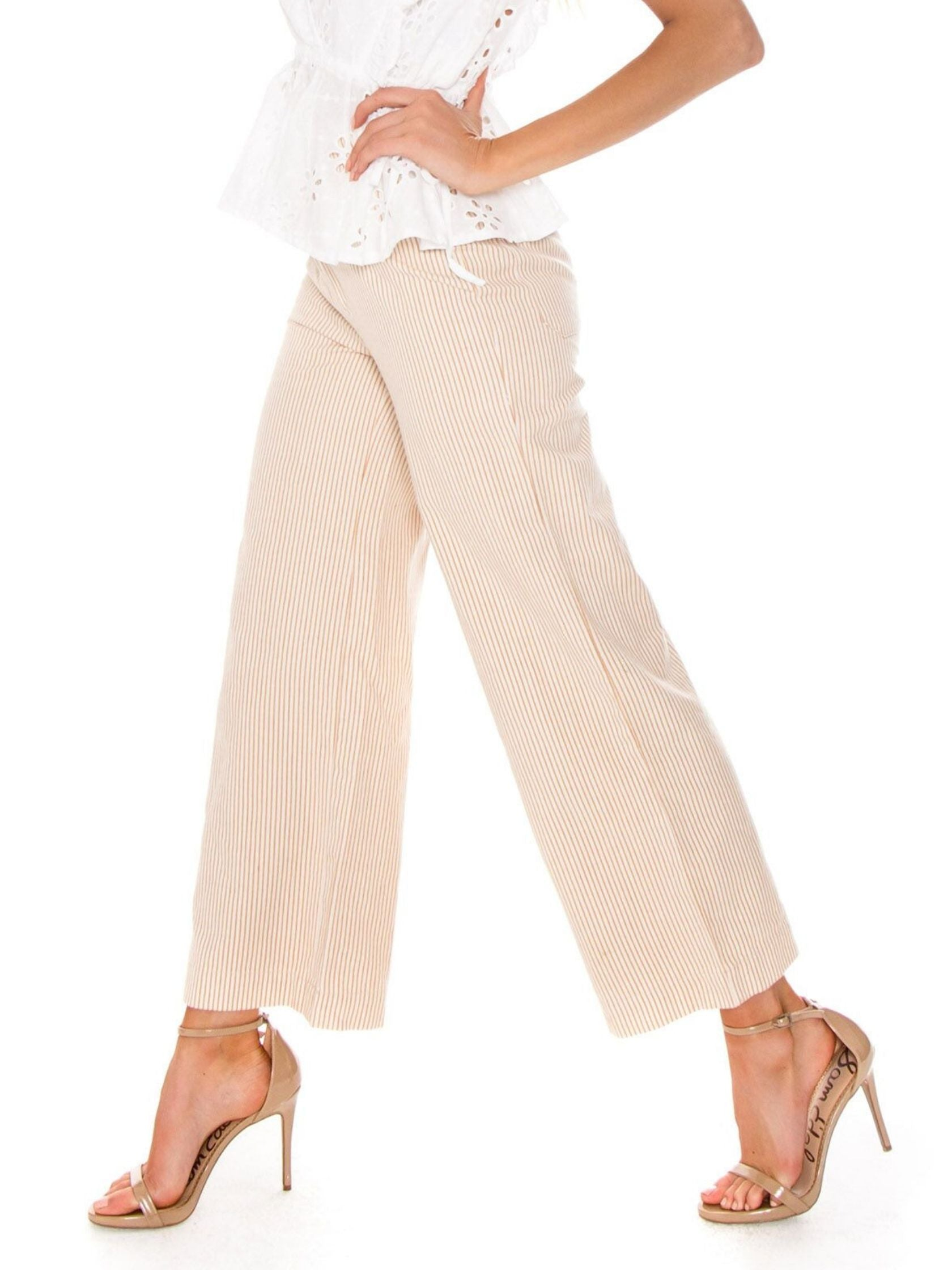 Women wearing a pants rental from ROLLAS called Old Mate Pant