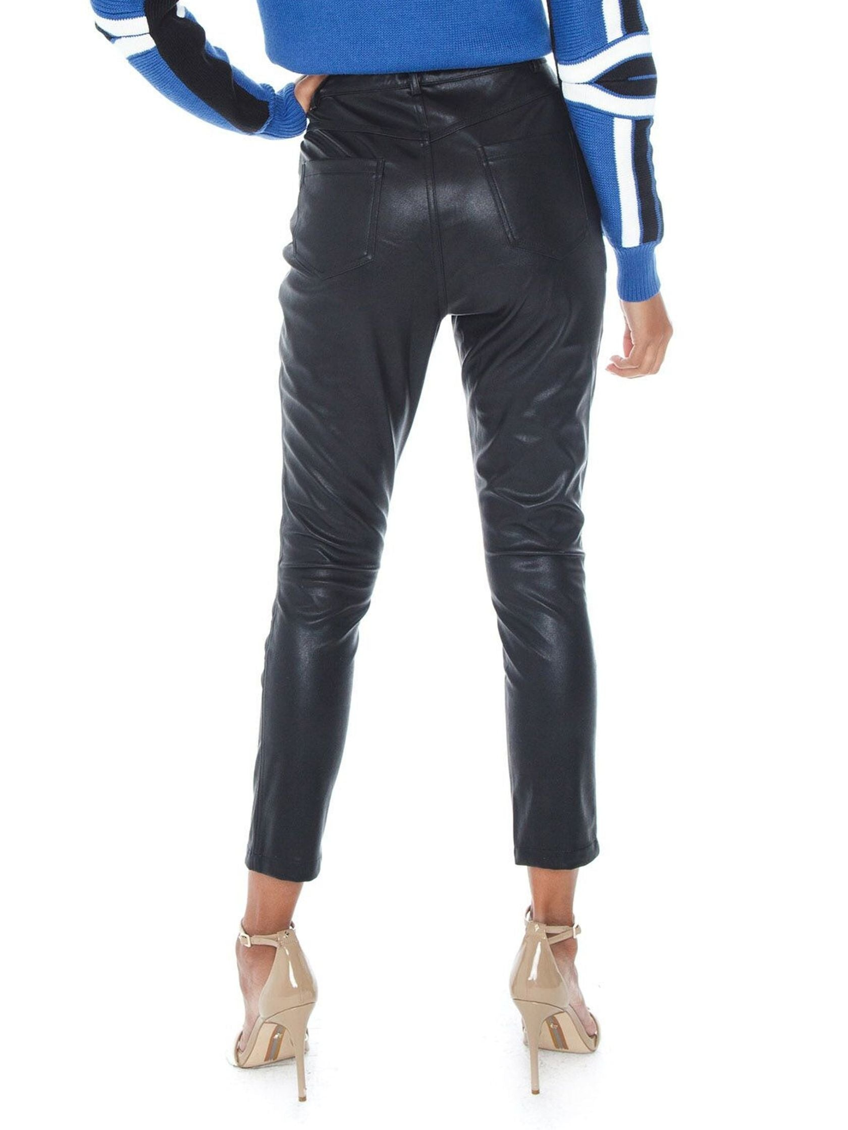 Women outfit in a pants rental from MINKPINK called Rory Biker Pant