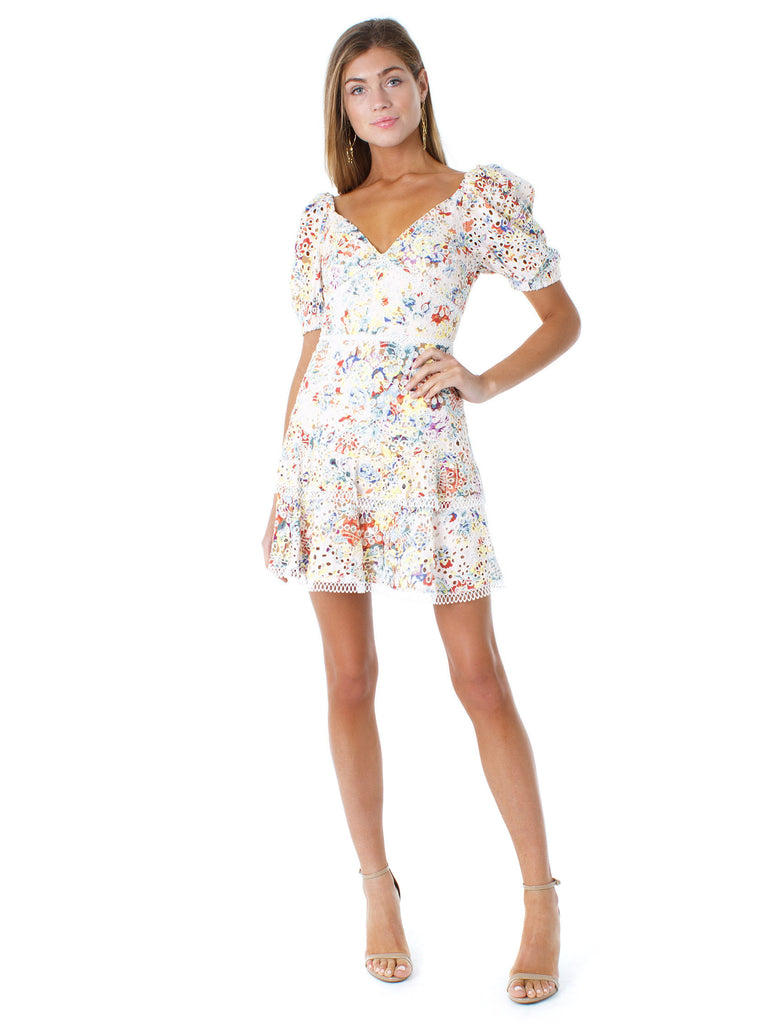 Women outfit in a dress rental from EN SAISON called Dancer Wrap Dress