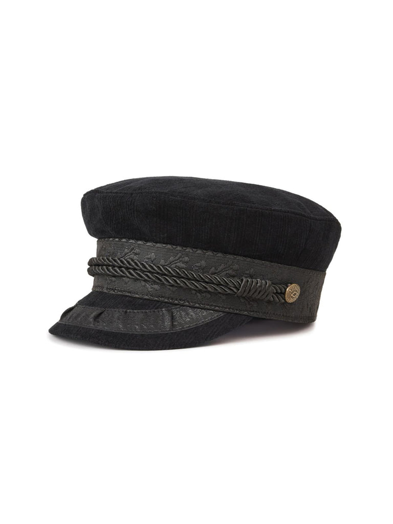 Woman wearing a hat rental from Brixton called Give Me Your Cashmere Fingerless Gloves