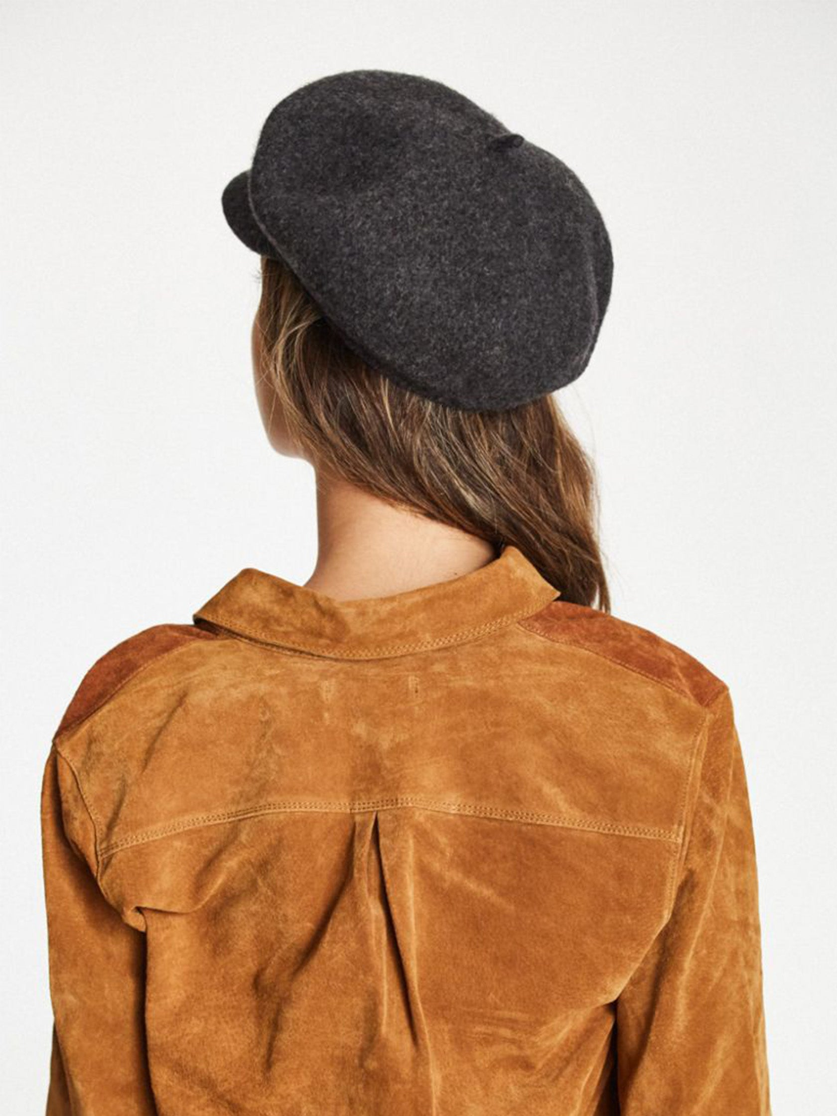 2589c54e6f3ab Girl wearing a hat rental from Brixton called Audrey Brim Beret