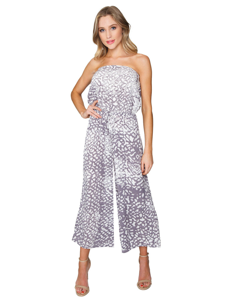 Women wearing a jumpsuit rental from Blue Life called Summer Breeze Maxi Dress