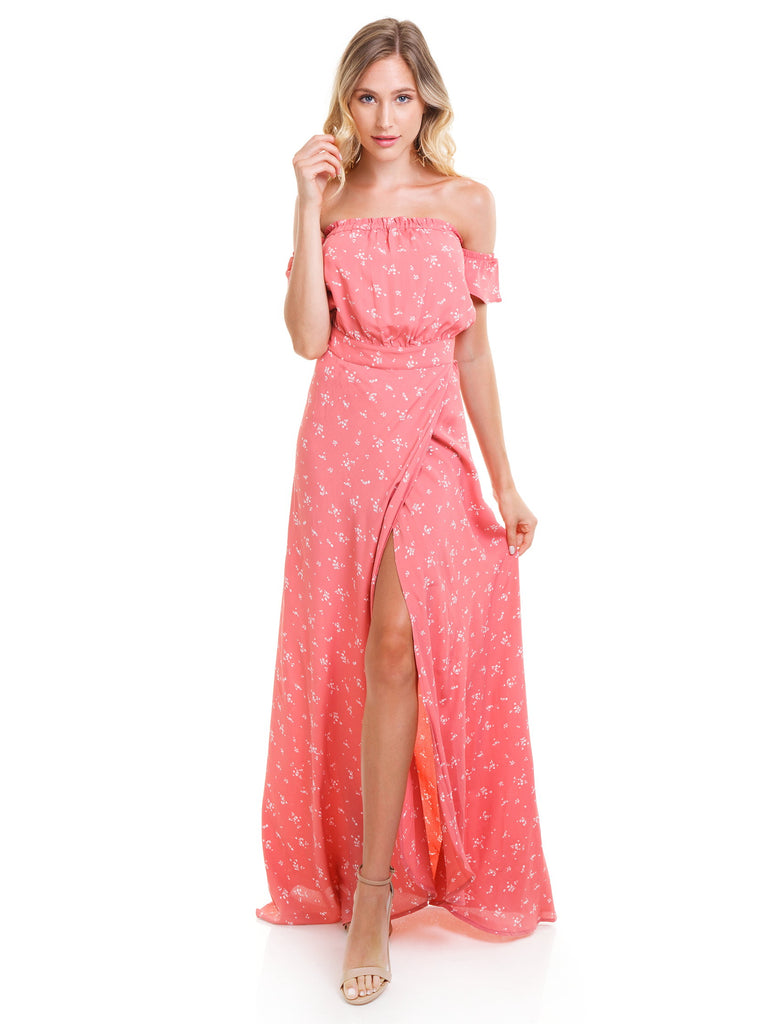 Woman wearing a dress rental from Flynn Skye called Scarlett Romper