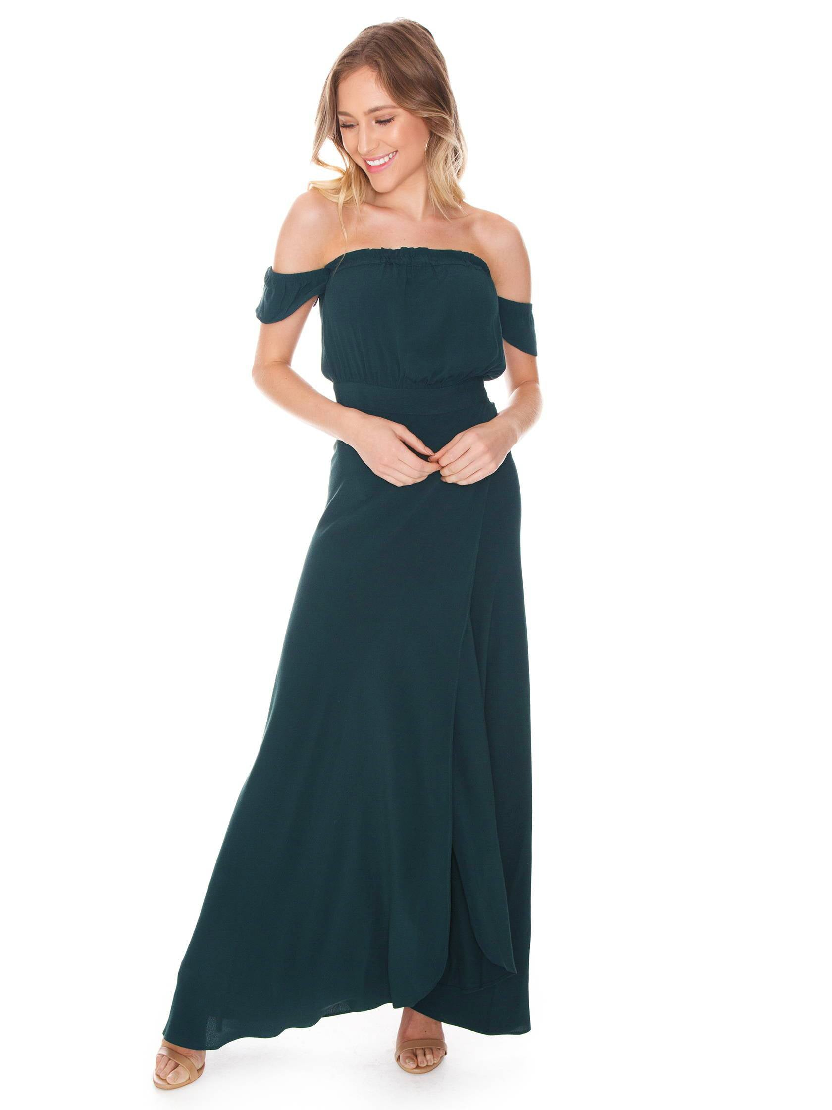 Women outfit in a dress rental from Flynn Skye called Bella Maxi