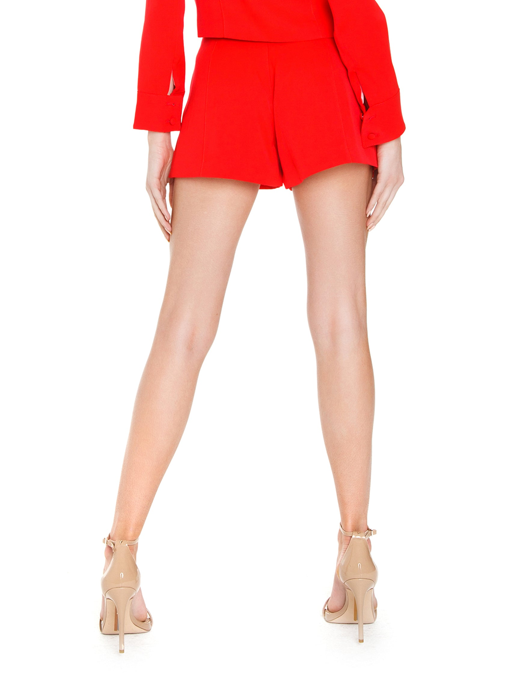 Women outfit in a shorts rental from FLETCH called Brooklyn High-waisted Shorts