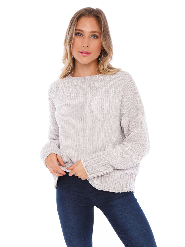 Woman wearing a sweater rental from SANCTUARY called Uptown Tee